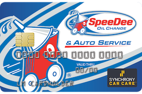 SpeeDee Credit Card